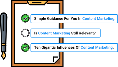 create relevant titles and headline for your content