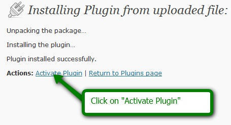 activate seoPressor plugin