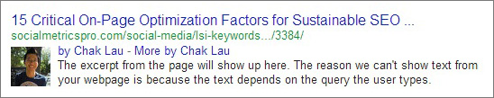 google authorship chak lau