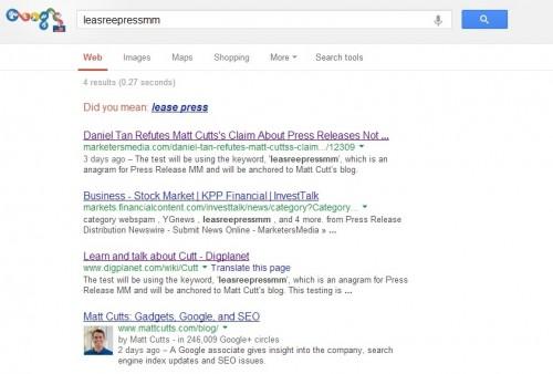 leasreepressmm results after