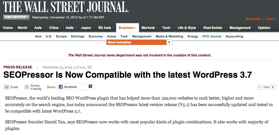 Wordpress SEO Plugin Compatibles with WP 3.7+