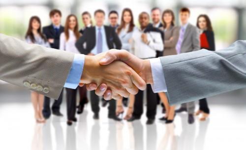 Handshake SEO Success