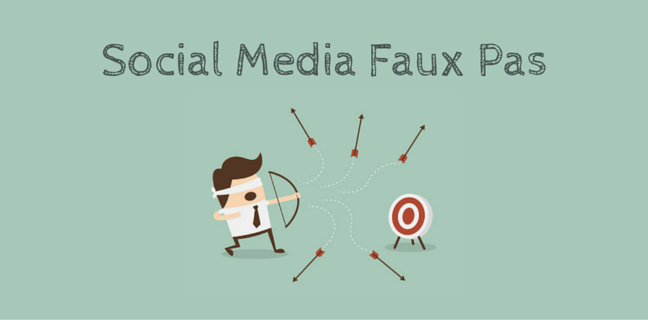 7 Social Media Faux Pas That Can't Be Forgiven