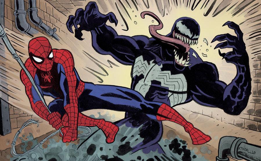 Image source: http://www.deviantart.com/art/Spider-Man-versus-Venom-155238163