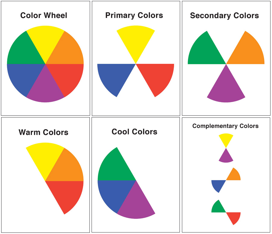 How psychology of color affects your marketing and branding for Cool colors together
