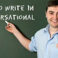 Conversational tone in essay writing
