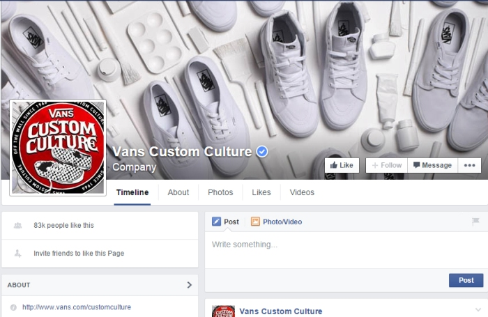 Vans famous Custom Culture competition involves personally decorating blank Vans.