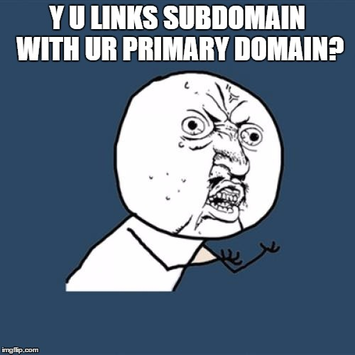 link-subdomain-with-primary-domain
