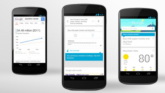 future of personalized search google now