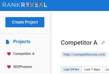 track your competition with rankreveal