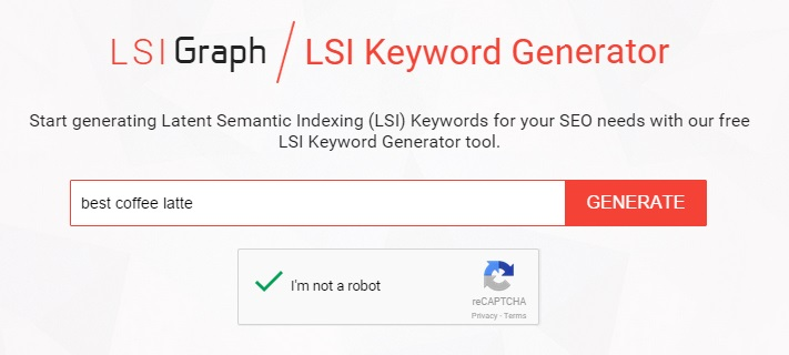 LSI Keyword Generator Tool