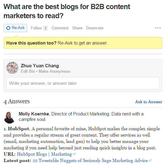 Ask And you shall receive to increasse blog traffic