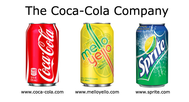 The Coca-Cola company for example put high importance in distinctly branding their products.
