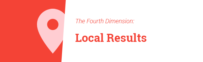 Fourth Dimension: Local Results