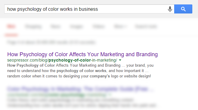 how psychology of color works in business screenshot