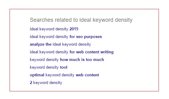 Look into the related searches to get some ideas.