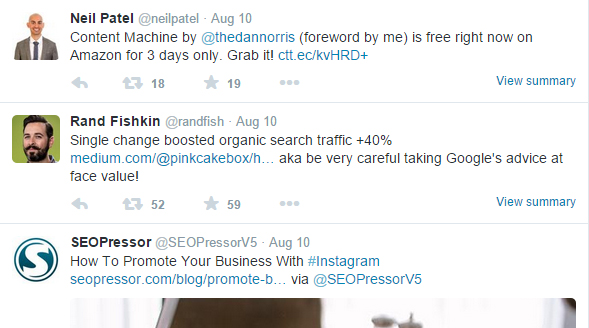 if you often post short, frequent updates, then twitter might be the best social media for you