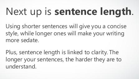 Sentence-length