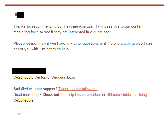 Second emails for how to guest blog