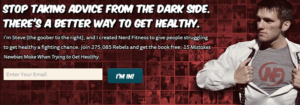 nerd fitness's blog success