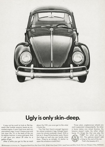 Honest marketing by volkswagen