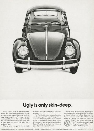 Honest marketing by volkswagen