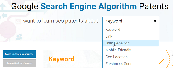 Google Patents_ Search Engine Algorithm for what is evergreen content