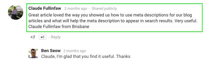 Meta-description-comment