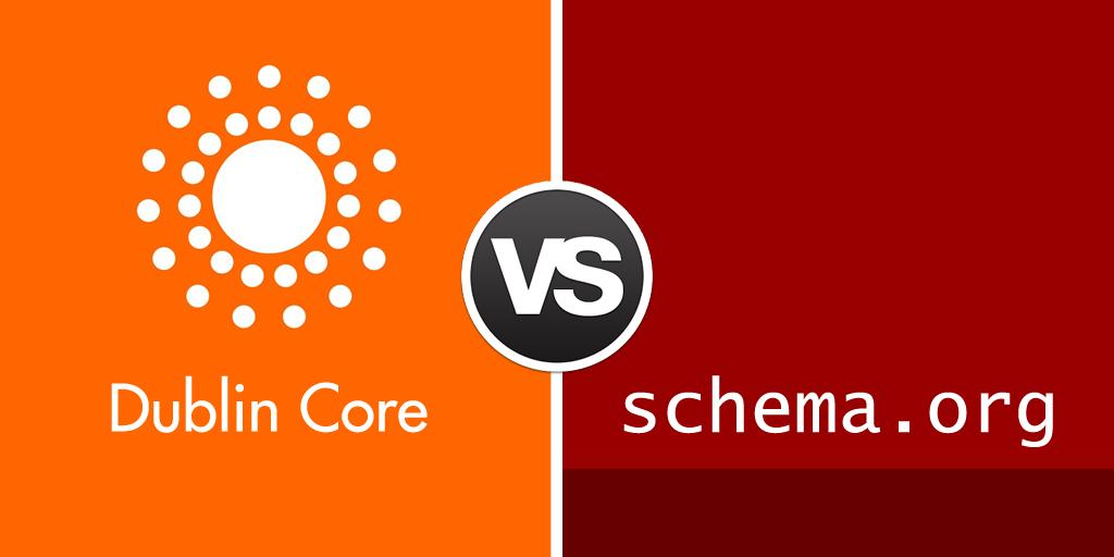 dublin core vs schemaorg