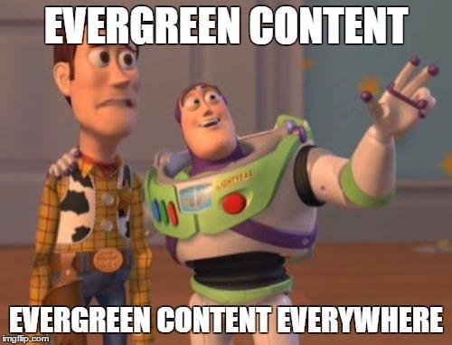 evergreen content everywhere