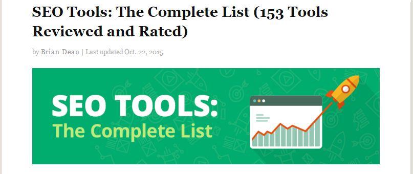 backlinko 153 seo tools