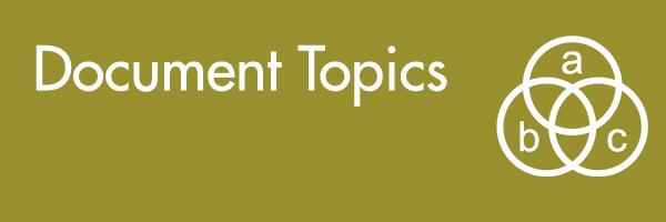 document topics