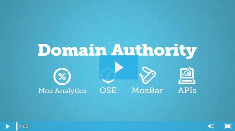Moz calculates Domain Authority and Page Authority based on a combination of different metrics.