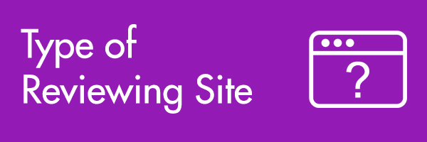 type of reviewing website also matters when it comes to improving your local search ranking result