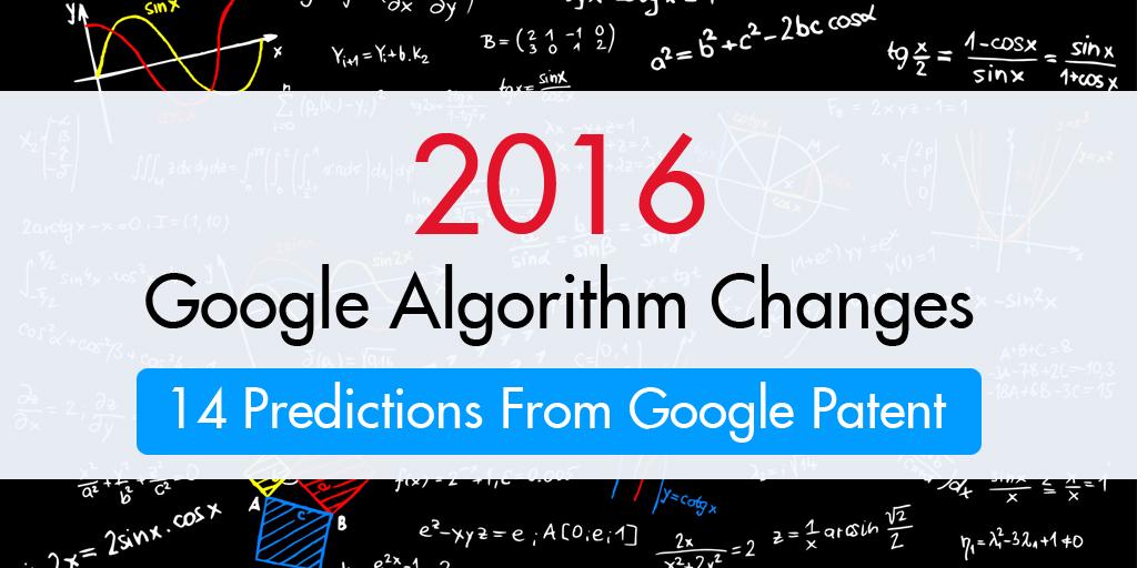 2016-google-algorithm-changes