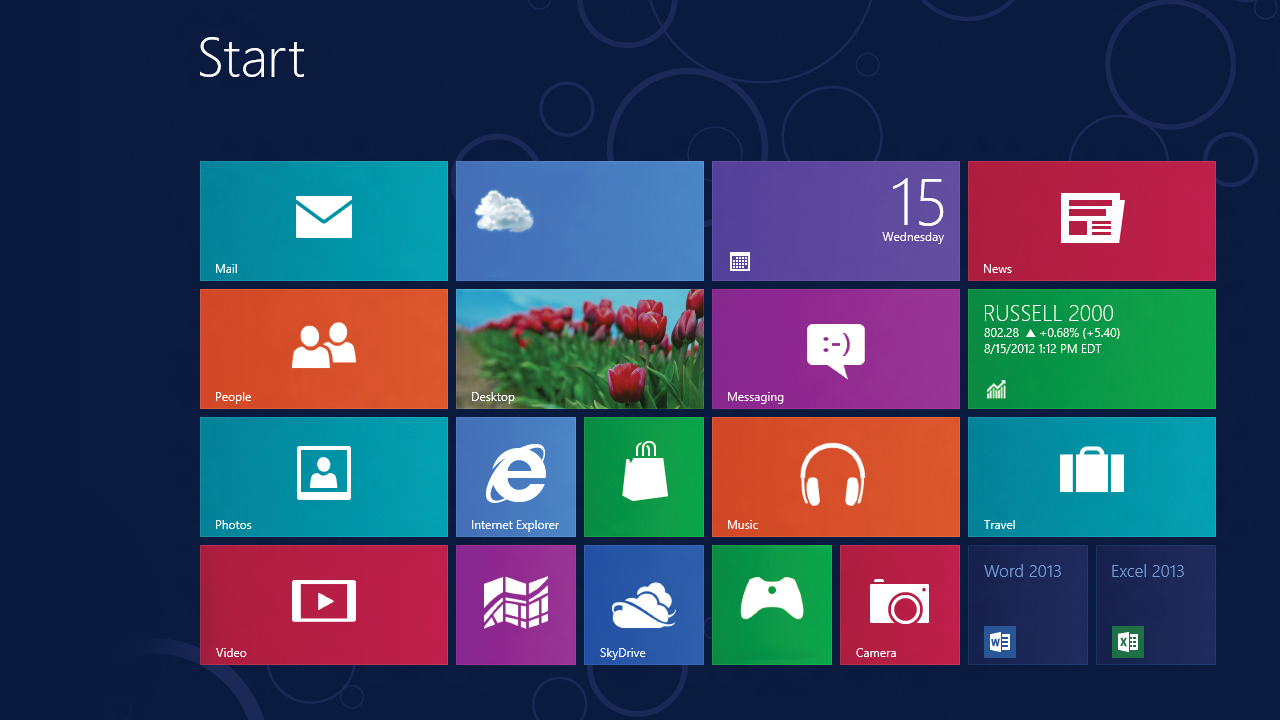 windows 8 tile design