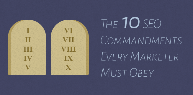 10 seo commandments