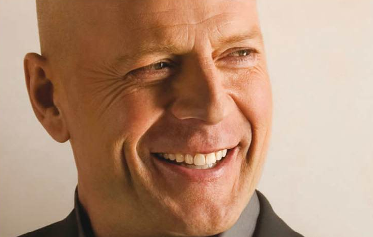 Bruce Willis Smiling
