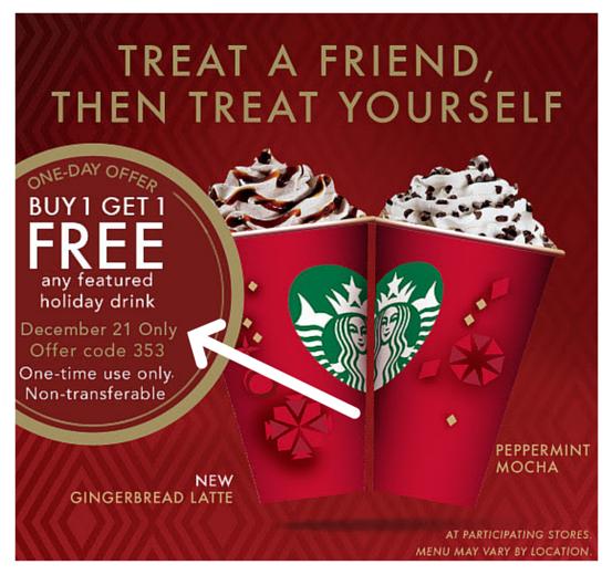 Starbucks's Season Frappuccino Offer