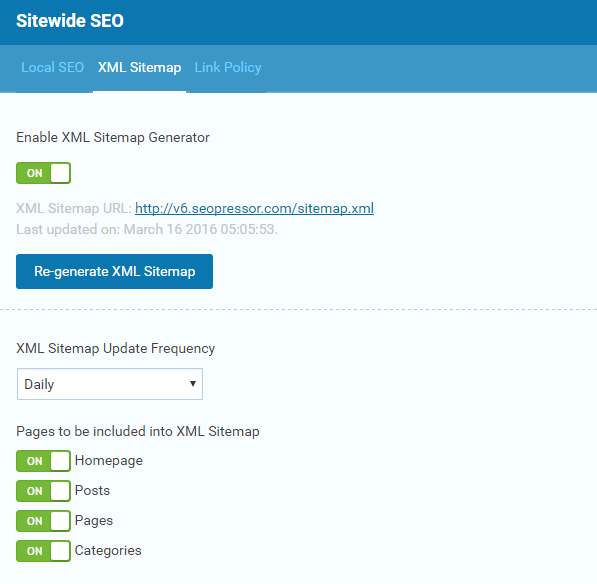 Xml Sitemap: 28 Ways SEOPressor Increases Your Website Traffic