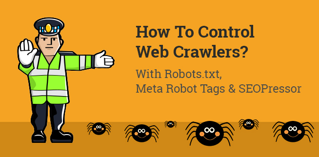how to control web crawlers
