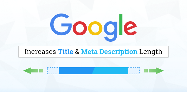 Google Increases Title & Meta Description Length
