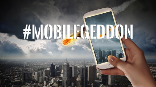 Mobilegeddon prioritize mobile-friendly websites in ranking mobile search results. Source: Search Engine Land