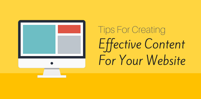 How To Produce Effective Content For Your Website