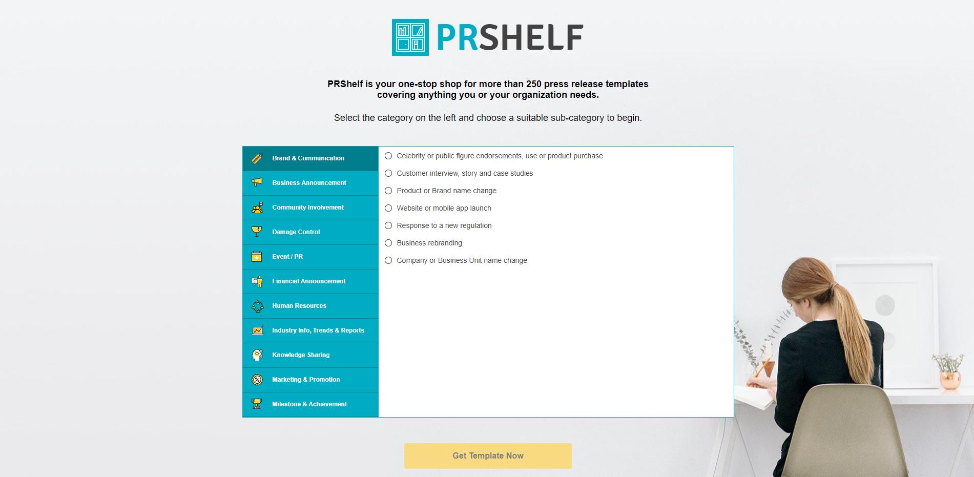 PRShelf