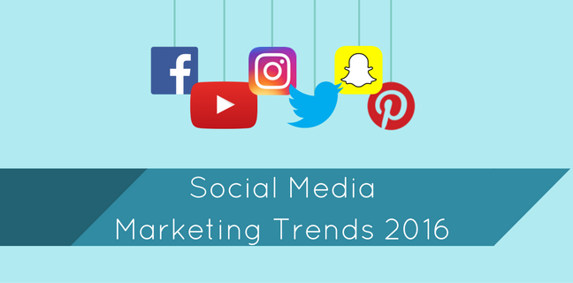 Social Media Marketing Trends 2016