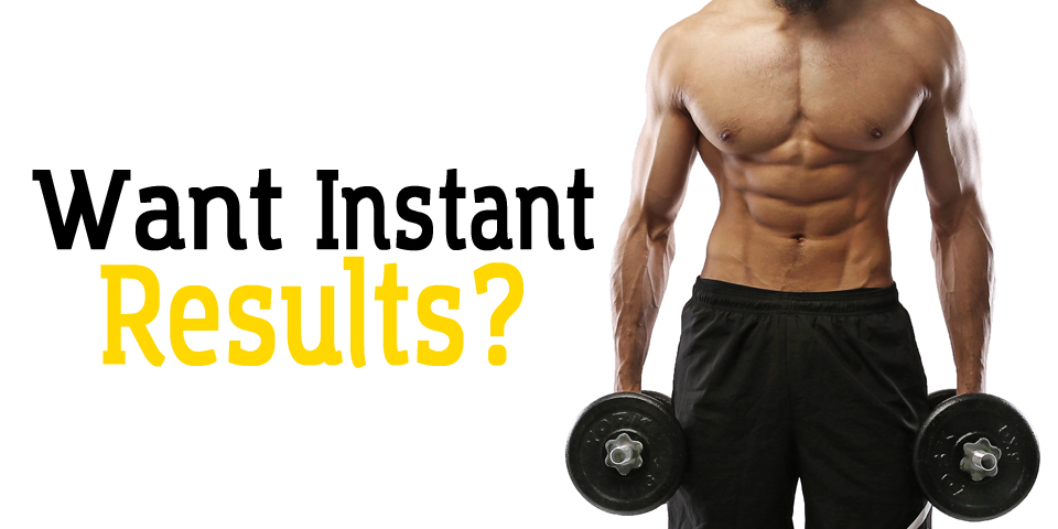 Online ads are much like 'roids. Abs not included.