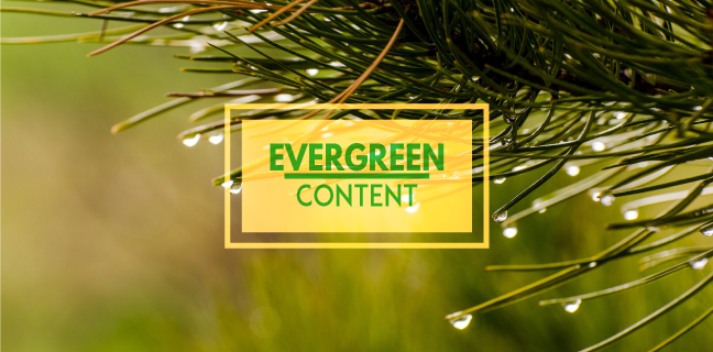 Evergreen Content Ideas