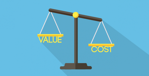 While a customer might like the idea of a product, they might not think the price they're paying is worth the value they're getting.