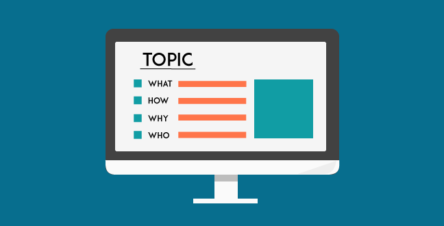 Your broad topic can then be written as a parent topic. This means that it will include all the points but only briefly explained.